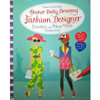 Sticker Dolly Dressing Fashion Designer London And New York Collection Watt Baggott Asiabooks Com