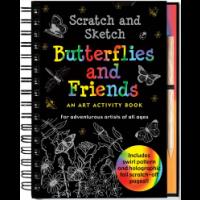 Butterflies And Friends Scratch And Sketch Conlon Mara Asiabooks Com
