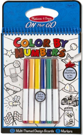 COLOR BY NUMBERS - BLUE