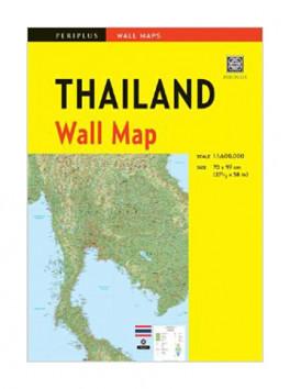 WALL MAP: THAILAND