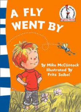 A FLY WENT BY (BLUE BACK BOOK)