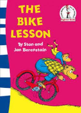 THE BIKE LESSON (BLUE BACK BOOK)