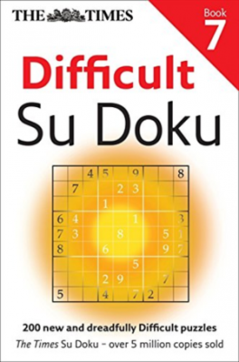 TIMES DIFFICULT SUDOKU BOOK 7