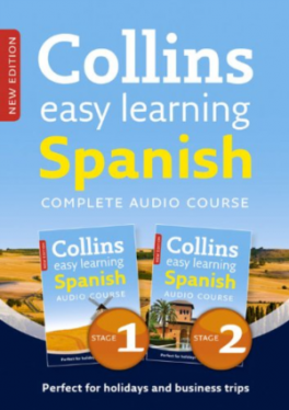 COLLINS EASY LEARNING AUDIO COURE: COMPLETE SPANISH (STAGES1AND2) BOX SET (2ND.ED.)