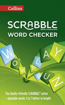 COLLINS SCRABBLE DICTIONARY & WORD CHECKER