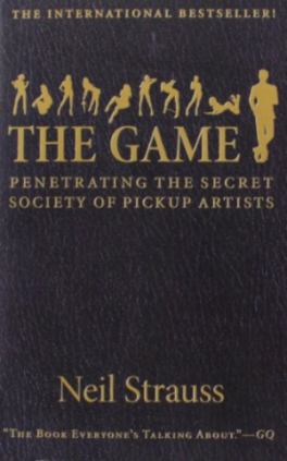 The game penetrating the secret society of pickup artists