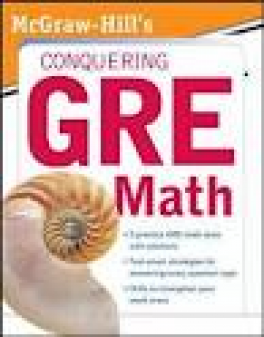 MH'S CONQUERING THE NEW GRE MATH(1ST ED)