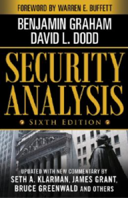 SECURITY ANALYSIS (6TH ED )
