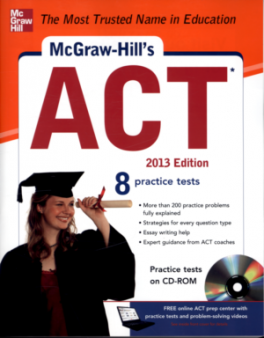 MCGRAW-HILL' S ACT (2013 ED.) (CRB)