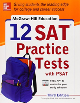 MCGRAW-HILL'S 12 SAT PRACTICE TESTS WITH 1 PSAT (3RD ED.)