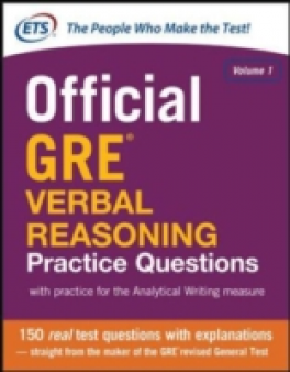 MCGRAW-HILL'S OFFICIAL GRE VERBAL REASONING PRACTICE QUESTIONS (1ST ED.)