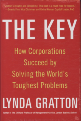 KEY, THE: HOW CORPORATIONS SUCCEED BY SOLVING THE WORLD\'S TOUGHEST PROBLEMS