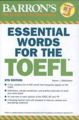 MCGRAW-HILL OFFICIAL TOEFL IBT TESTS WITH DVD VOLUME 1 (2ND ED.)