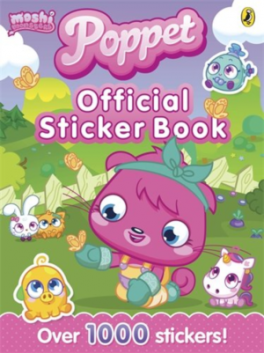 MOSHI MONSTERS: POPPET OFFICIAL STICKER BOOK
