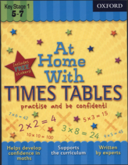 AT HOME WITH TIME TABLES (AGE 5-7)
