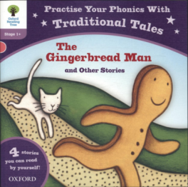 TRADITIONAL TALES: THE GINGERBREAD MAN & OTHER STORIES (ORT STAGE 1)