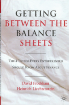 GETTING BETWEEN THE BALANCE SHEETS