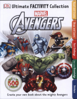 ULTIMATE FACTIVITY COLLECTION MARVEL THE AVENGERS