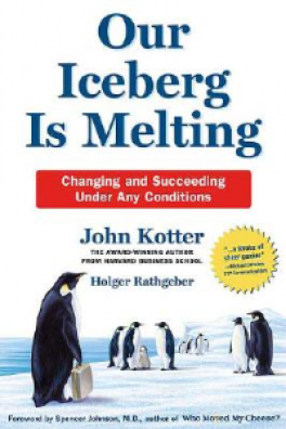 OUR ICEBERG IS MELTING: CHANGE AND SACCEED UNDER ADVERSE CONDITION