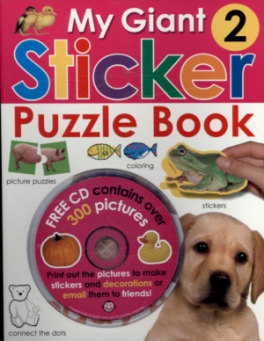 MY GIANT STICKER PUZZLE BOOK
