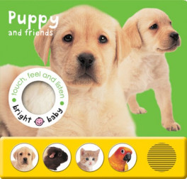 BRIGHT BABY TOUCH FEEL AND LISTEN: PUPPY AND FRIENDS SERIES