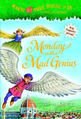 MAGIC TREE HOUSE 38 MONDAY WITH A MAD GENIUS MERLIN MISSION