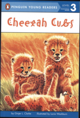 CHEETAH CUBS ((PENGUIN YOUNG READERS LEVEL 3)