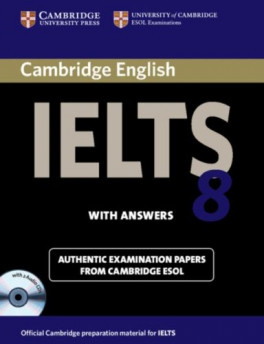 CAMBRIDGE IELTS 8: SELF-STUDY PACK (STUDENTS' BOOK WITH ANSWERS AND AUDIO  (CDB))