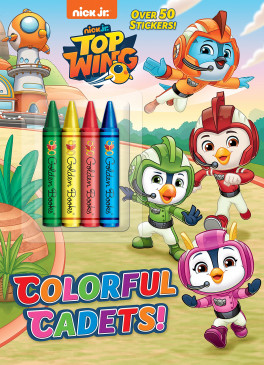 NICK JR. TOP WING: COLORFUL CADETS! (WITH 4 CRAYONS)