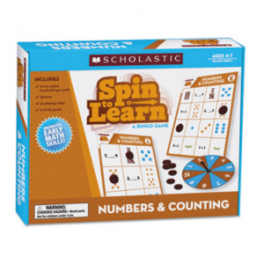 SPIN TO LEARN A BINGO GAME: NUMBERS & COUNTING