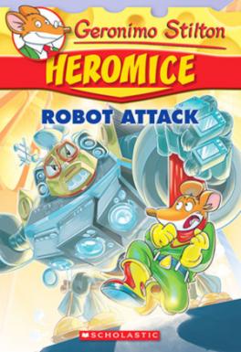 GERONIMO STILTON HEROMICE 2 ROBOT ATTACK