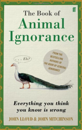 BOOK OF ANIMAL IGNORANCE