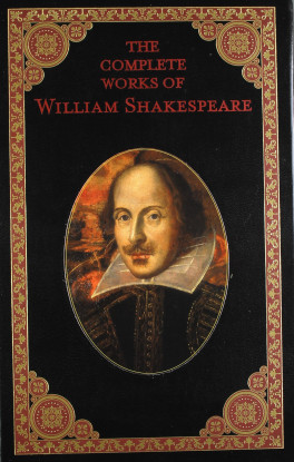 LEATHERBOUND EDITION: COMPLETE WORKS OF WILLIAM SHAKESPEARE