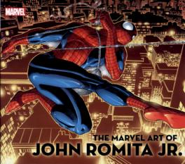 MARVEL ART OF JOHN ROMITA JR, THE