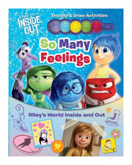 DISNEY PIXAR INSIDE OUT: SO MANY FEELINGS: RILEY'S WORLD INSIDE AND OUT
