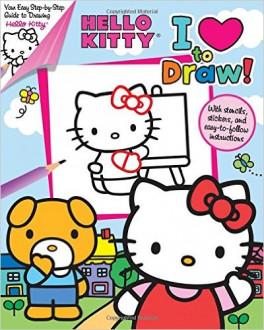 I Love To Draw Hello Kitty Feldman Thea Asiabooks Com