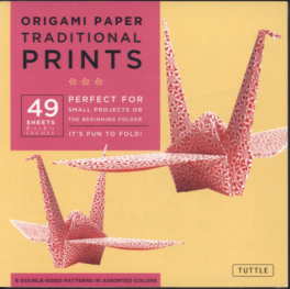 """ORIGAMI PAPER: TRADITIONAL (8 1/4"""")"""