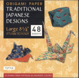 ORIGAMI PAPER PACK (L): TRADITIONA JAPANESE DESIGN