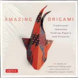 AMAZING ORIGAMI KIT: TIONAL JAPANESE FOLDING PAPERS & PROJECTS