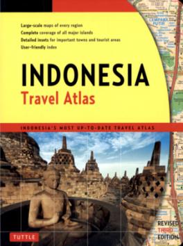 TUTTLE TRAVEL ATLAS: INDONESIA (3RD ED.)