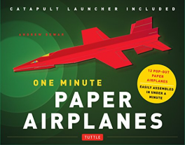 ONE MINUTE PAPER AIRPLANES KIT