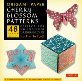 ORIGAMI PAPER CHERRY BLOSSOM PATTERN (SI)
