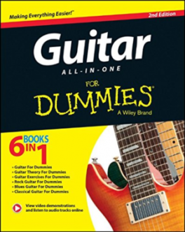 GUITAR ALL-IN-ONE FOR DUMMIES (2ND ED.)