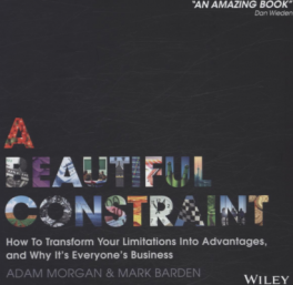 BEAUTIFUL CONSTRAINT, A: HOW TO TURN YOUR LIMITATIONS INTO ADVANTAGES, AND WHY IT'S EVERYONE'S BUSINESS