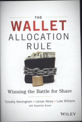 WALLET ALLOCATION RULE, THE: WINNING THE BATTLE FOR SHARE