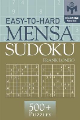 EASY-TO-HARD MENSA SUDOKU