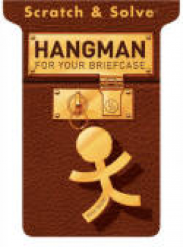 SCRATCH & SOLVE HANGMAN FOR YOUR BRIEFCASE
