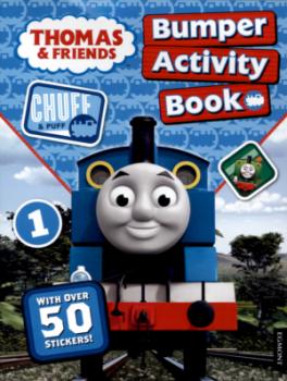 THOMAS & FRIENDS BUMPER ACTIVITY BOOK (REISSUE)