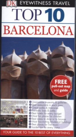 EYEWITNESS TOP 10 TRAVEL GUIDES: BARCELONA (12TH ED.)