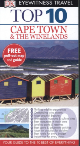 EYEWITNESS TOP 10 TRAVEL GUIDES: CAPE TOWN & THE WINELANDS (4TH ED.)